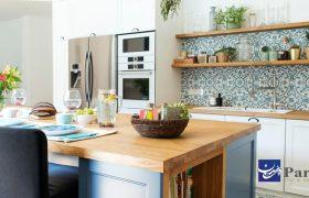 کاشی آشپزخانه جدید