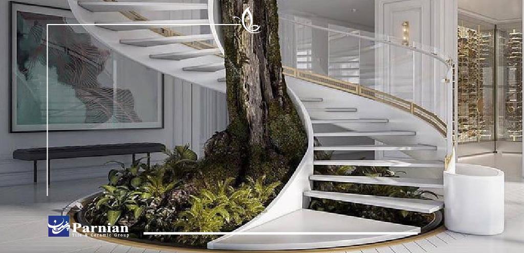 سرامیک راه پله، ایده برتر در طراحی